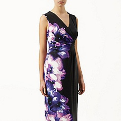 Kaliko - Placement print maxi dress