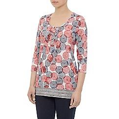 Dash - Dahlia print tunic