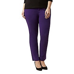 Windsmoor - Purple stretch cotton trouser