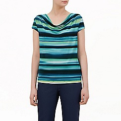Kaliko - Stripe jersey top