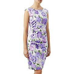Kaliko - Blurred floral shift dress