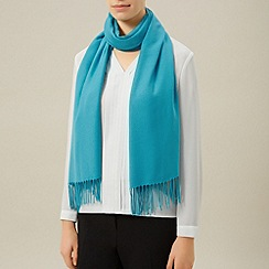 Planet - Turquoise plain scarf