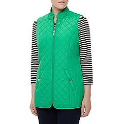 Dash - Green nylon lightweight gilet