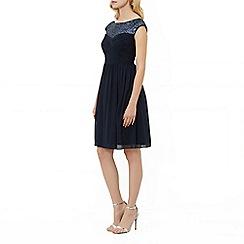 Kaliko - Sequin trim dress