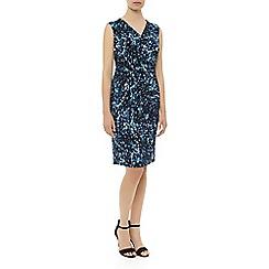 Planet - Print jersey dress