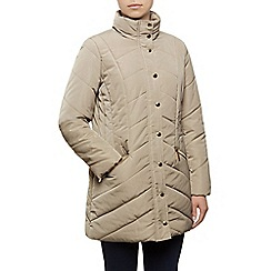 Dash - 3/4 Chevron Heavy Quilted Coat