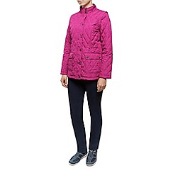 Dash - Short Zip Off Sleeve Quilted Coat