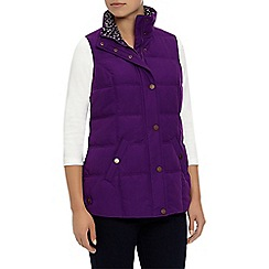 Dash - Peached Gilet Purple