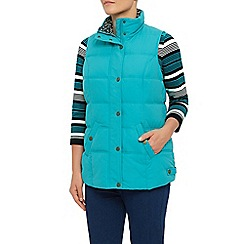 Dash - Peached Gilet Teal
