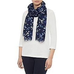 Dash - Poppy print scarf