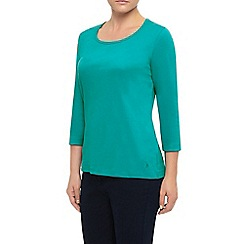 Dash - 3/4 C/Ess Plain Teal Scoop Nk