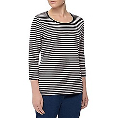 Dash - 3/4 Stripe Neck
