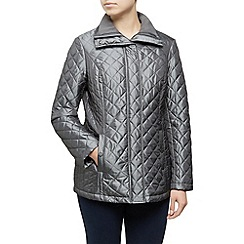 Dash - Short Quilted Coat Rib Collar