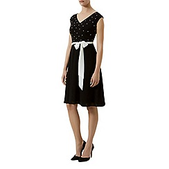 Kaliko - Pearl trim dress