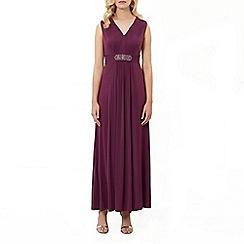 Kaliko - Embellished waistband dress