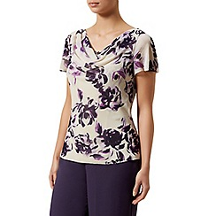 Jacques Vert - Soft rose print top