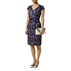 Jacques Vert - Petite two toned lace dress
