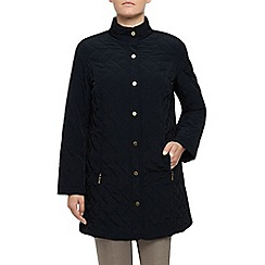 Eastex - Long Funnel Neck Raincoat