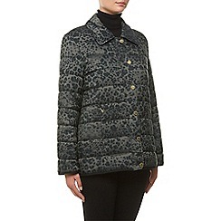 Windsmoor - Animal Print Short Raincoat