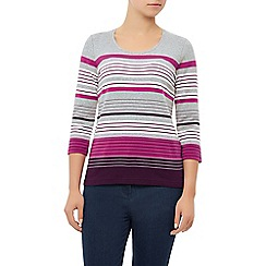 Dash - Stripe Scoop Neck Top