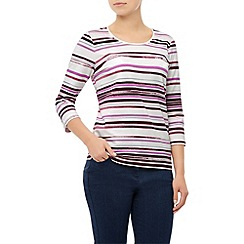 Dash - Painted Stripe Scoop Neck