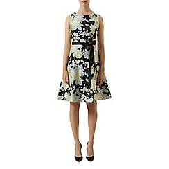 Kaliko - Floral burnout prom dress