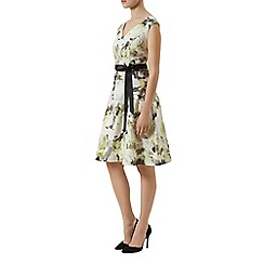 Kaliko - Outline floral print dress
