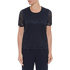 Eastex - Navy lace top
