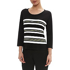 Precis Petite - Stripe Placement Jumper