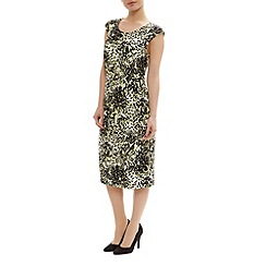 Precis Petite - Angular floral jersey dress