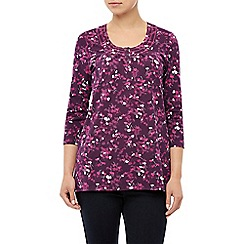 Dash - Printed jersey top