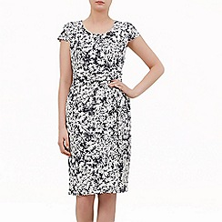 Kaliko - Daisy print shift dress