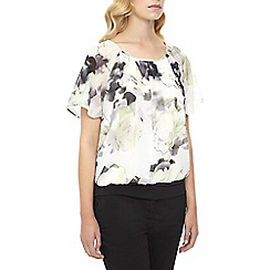 Kaliko - Printed Bubble Hem Top