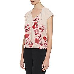 Kaliko - Oriental bloom print blouse