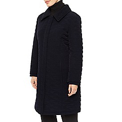 Precis Petite - Long Quilted Hooded Coat