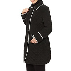 Precis Petite - Long Tipped  Quilted Coat