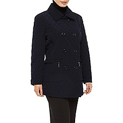 Precis Petite - Mid Double Breasted Coat