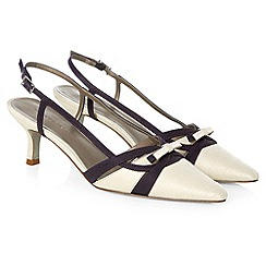 Jacques Vert - Strippy slingback shoe