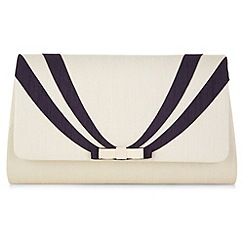 Jacques Vert - Stripy bow bag