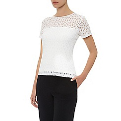 Planet - Animal textured top