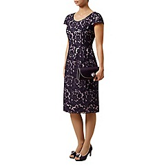 Jacques Vert - Corded lace 2 tone dress
