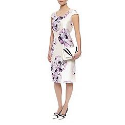 Jacques Vert - Petite print embellished dress