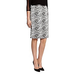 Planet - Jacquard Textured Skirt