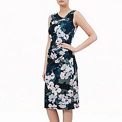 Kaliko - Floral Wrap Jersey Dress