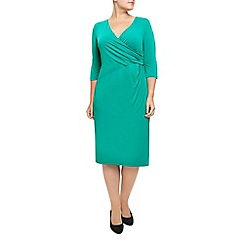 Windsmoor - Green jersey dress