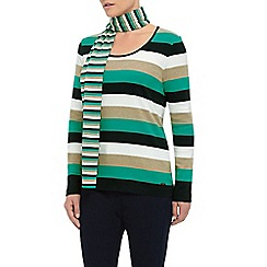Dash - Stripe Scarf Top
