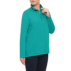 Dash - Plain Zip Funnel Neck