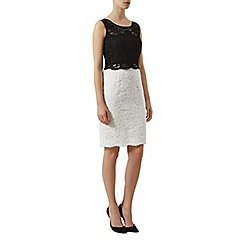 Kaliko - Colour block lace dress