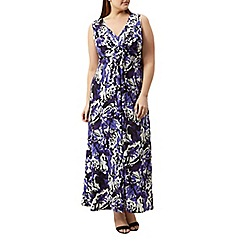 Windsmoor - Purple printed maxi dress