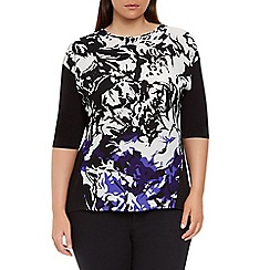 Windsmoor - Purple printed top